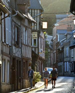 France, Calvados, Pays d'Auge, Honfleur
