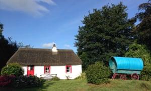 Geaglum cottage, Upper Lough Erne, Fermanagh, Northern Ireland