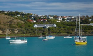 Following years of population and industry decline, places such as Oamaru, pictured, are beginning to grow again.
