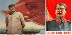 In his book Totalitarian Art, Golomstock juxtaposed hundreds of images like these posters of Mao and Stalin