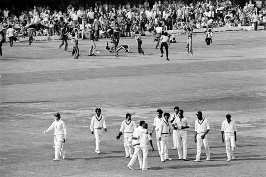 Geoff Boycott of England is out, caught by Alvin Kallicharran off the bowling of Keith Boyce of West Indies during the 3rd Test match between England and West Indies at Lord's Cricket Ground, London on 25 August 1973.