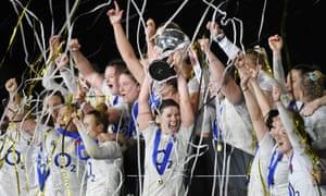 England Women thrash Scotland Women to win Six Nations grand
