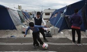 Refugee children in Calais