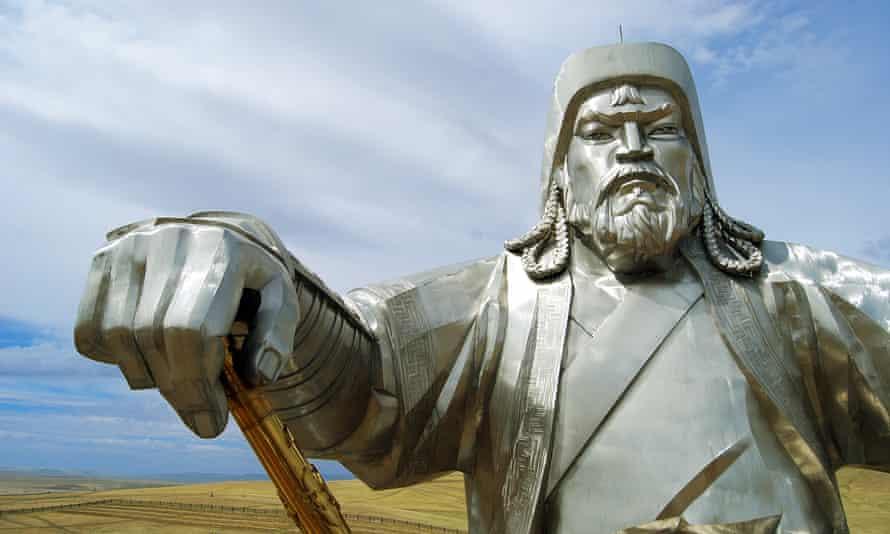 Genghis Khan statue in Mongolia