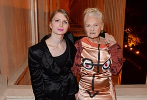 Guest of honour Chelsea Manning at an ICA fundraiser last Monday, with its host, Vivienne Westwood.