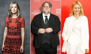 Rosamund Pike, Guillermo del Toro and Naomi Watts, who are all involved with either current or forthcoming short-form projects.