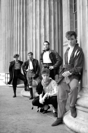 After appearing on Top of the Pops in 1980, the New Romantic look gained popularity. 'Suddenly the high street was full of the New Romantic look – even Topshop was selling ruffles, piecrust collars and knickerbockers,' Gary Kemp said in the documentary film Soul Boys of the Western World.