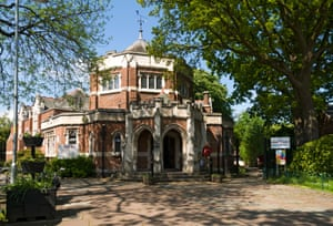 Didsbury library in Manchester.