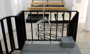 gallows at Suaga (Suwaqa) prison, south of the capital Amman.