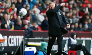 Chris Wilder, a former Sheffield United ballboy and full-back, will welcome the cross-town rivals on Friday evening.
