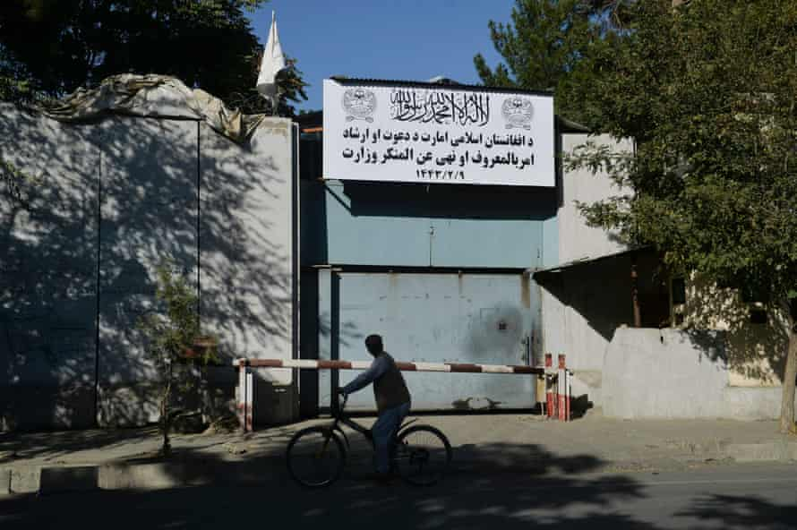 The Taliban have shut down the women's affairs ministry and replaced it with a department notorious for enforcing strict religious doctrine during their first rule two decades ago.