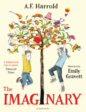 The Imaginary illustrated by Emily Gravett, written by AF Harrold (Bloomsbury)