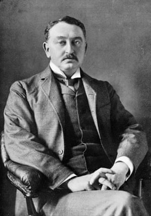 Cecil John Rhodes in about 1900.