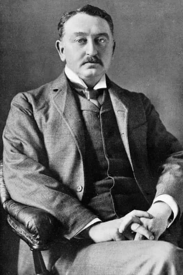 Cecil John Rhodes, portrait c. 1900.