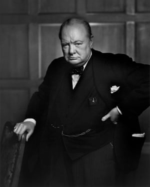 Sir Winson Churchill in 1941, during his first term as British prime minister.