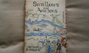 Swallows and Amazons, first edition.
