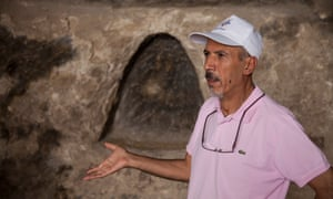 Ridvan Ayhan, now nearly 60, of the Initiative to Keep Hasankeyf Alive.