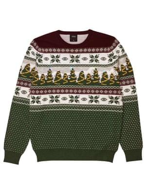Nothing says Christmas like a lightup jumper, £21, burton.co.uk