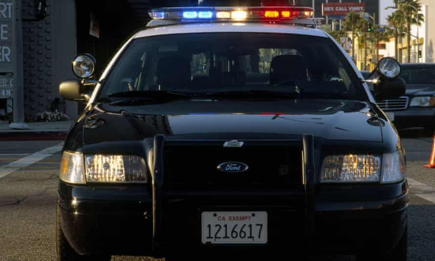A police department spokesman told reporters deputies saw the man produce a handgun before running away.