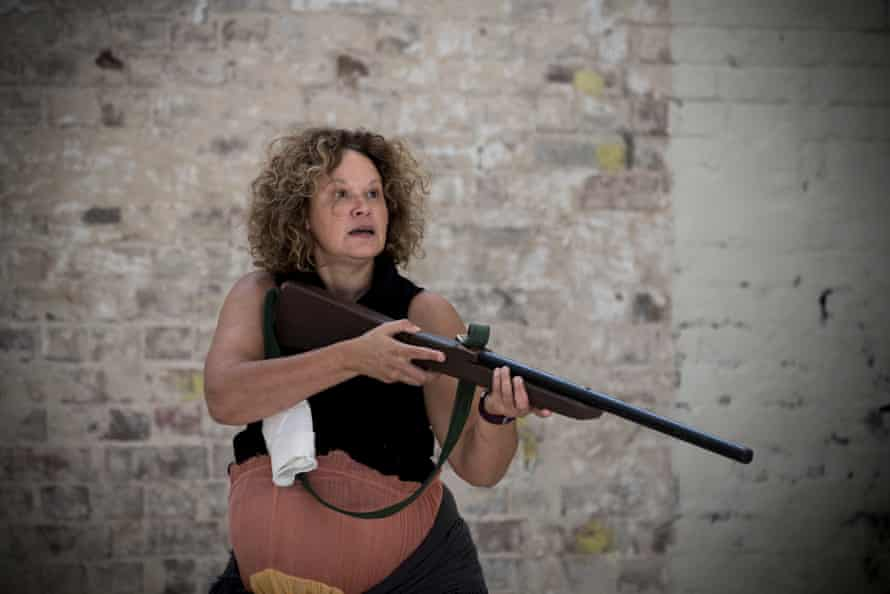 Leah Purcell as the Drover's Wife