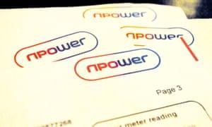 Billing trauma from Npower.