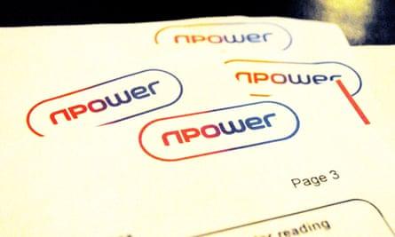 Npower energy bill