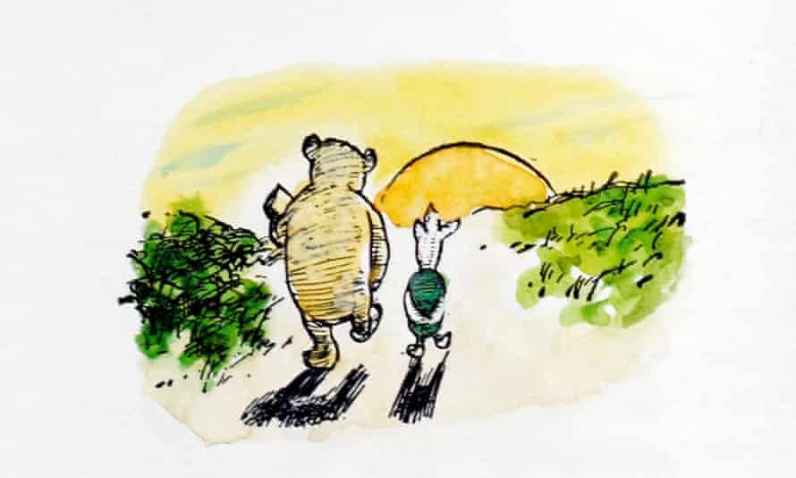 Warm comfort … Winnie-the-Pooh.