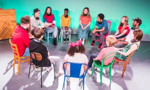 We started talking to children and asking about their experience, and realised their voices had to be the centre of the piece,' says director Abbey Wright.