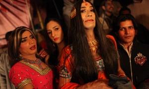 Pakistani hijras, at a function on the outskirts of Rawalpindi