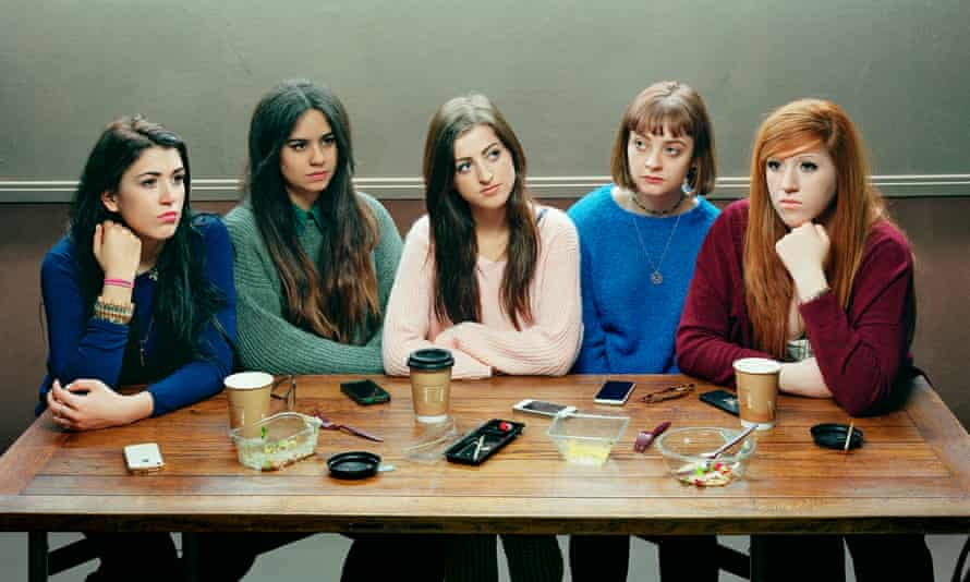 David Stewart's portrait of his daughter and her friends