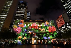 Customs House in Circular Quay gets a floral makeover