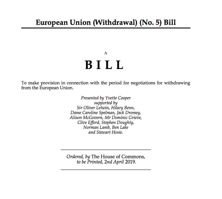 Cooper's bill