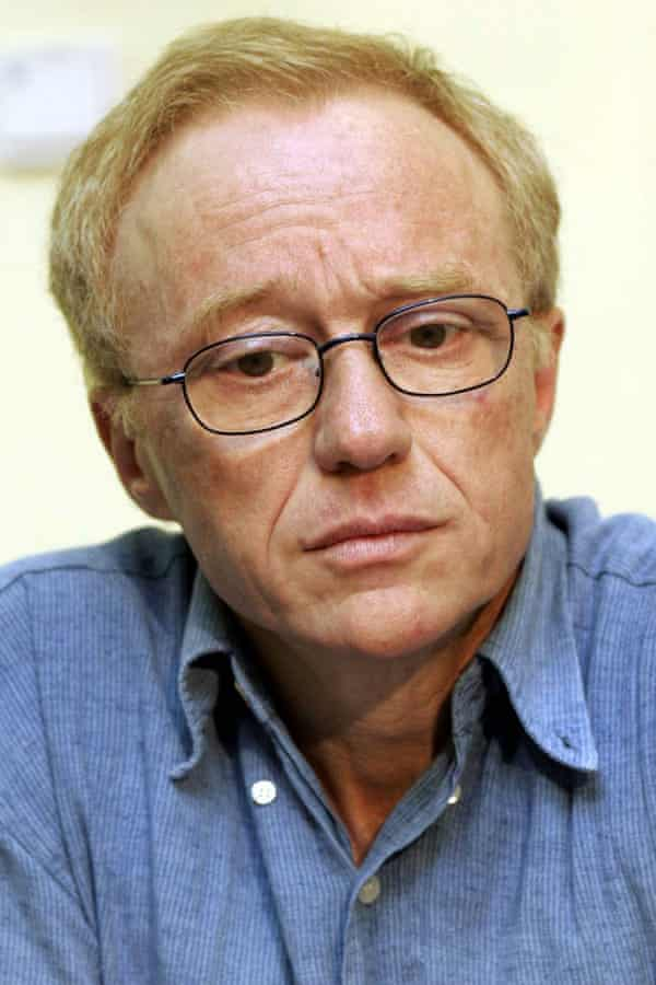 Renowned Israeli novelist and peace activist David Grossman.