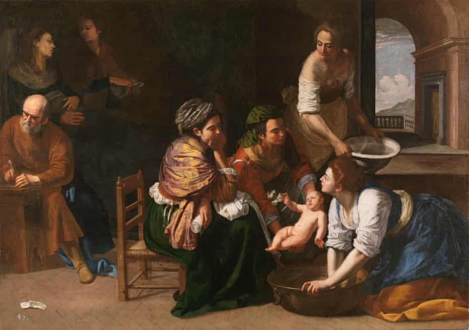 'Overwhelmingly present': Artemisia Gentileschi's The Birth of St John the Baptist (c1635)