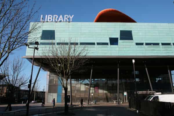 Will Alsop's striking Peckham library.