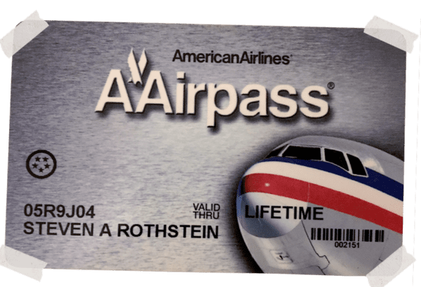 One of the many designs that American used for AAirpass. These cards were coveted more than gold.