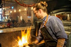 TV chef Niklaus Ekstedt has gone back to basics in his latest Stockholm restaurant