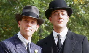 Hugh Laurie as Bertie Wooster and Stephen Fry as Jeeves in ITV's Jeeves and Wooster … Ben Schott has fabulously recreated Wodehouse's version of an England that never was.