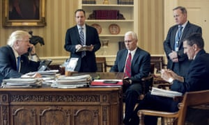 Flynn, right, cut Pence, center, out of the loop.