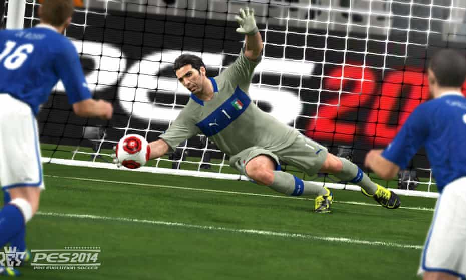 Pro Evolution Soccer 2014.