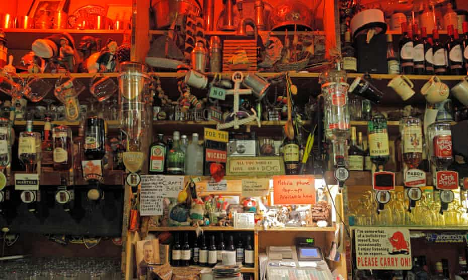 Interior of McCarthy's pub in Castletownbere, Co. Kerry, Ireland