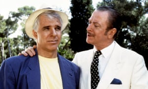 Steve Martin and Michael Caine in the original Dirty Rotten Scoundrels.