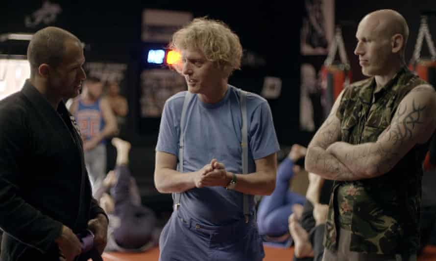 Grayson Perry among the hard men.