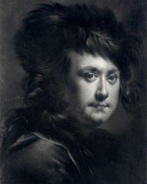 Joseph Wright of Derby, Self Portrait.