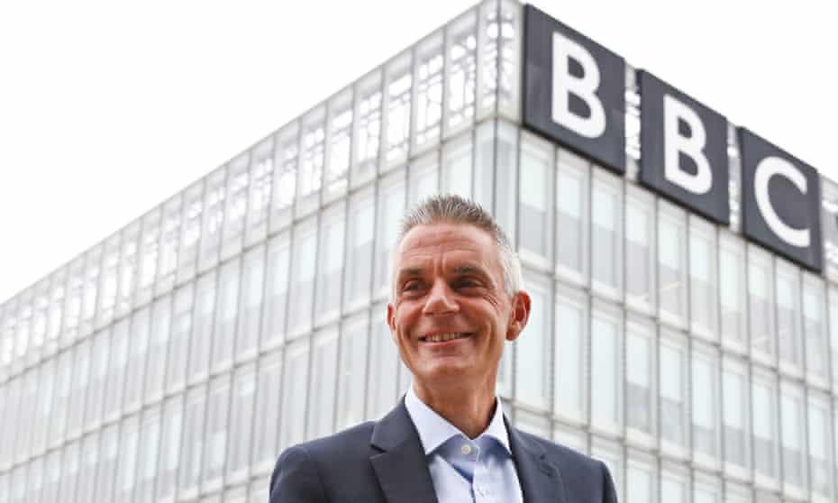 The BBC director general, Tim Davie