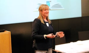 Catherine Millar talks about turning her school into a reading school at the Guardian Education Centre Reading for pleasure conference 28 March 2019