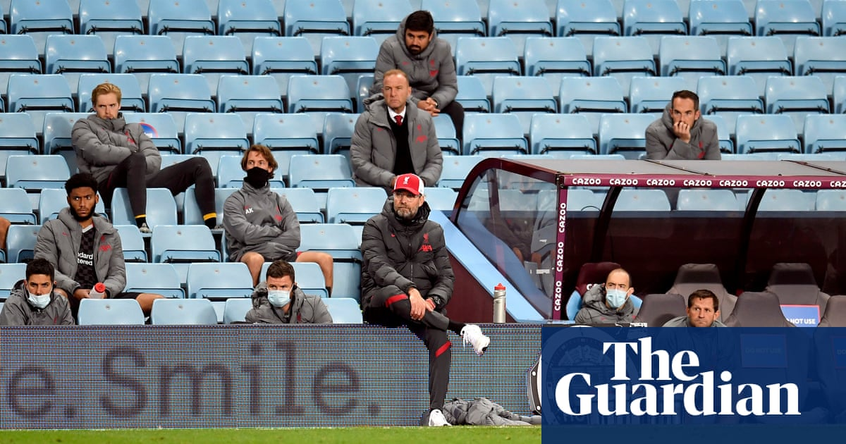 Jürgen Klopp: Aston Villa wanted it more and that is something I don't like