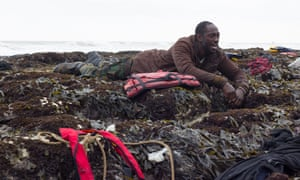 Ivanno Jeremiah features as an asylum seeker in The Flood.
