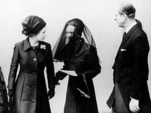 Queen, Prince Philip and Wallis Simpson