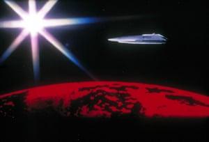 "Dark Star, 1974Concept artist for the Feature film ""Dark Star"" Designed the Space Ship exterior"